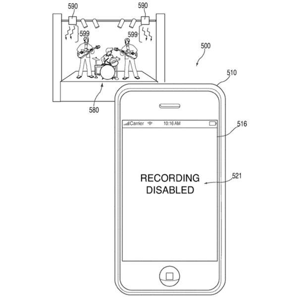 ライブ会場でiPhoneの写真撮影や録音を停止させる特許、アップルが取得 https://t.co/uf1HgxOf1R https://t.co/aBBbPkPyIy