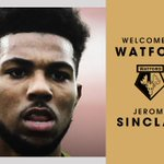 OFFICIAL: #watfordfc has agreed terms with @LFC over the transfer of Jerome Sinclair. Welcome, @JSinclair_48! https://t.co/2cg4IcmiHw