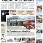 """Así amanecemos: """"Gobernación del Zulia deja sin beca a más de 800 estudiantes por firmar"""" 1ra plana diario La Verdad https://t.co/pOCbmqLELw"""