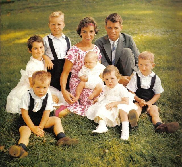 John kennedy and family
