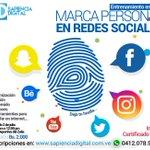 ¡Tú eres una marca! ¡Entrenamiento en vivo el sábado 2 de julio en #Maracaibo! ▶ #socialmedia https://t.co/l2HMI8ewcv