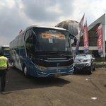 Pelepasan Mudik Gratis oleh Bapak Gubernur @ganjarpranowo dari Jakarta menuju kab kota dijateng @KemensosRI https://t.co/Rpz3vsKmwo