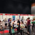 The Gold Coast Check In Centre is now open at the @GCCEC! Were here until 8pm tonight. #GCAM16 #thisisqueensland https://t.co/3KmmCmdQuU