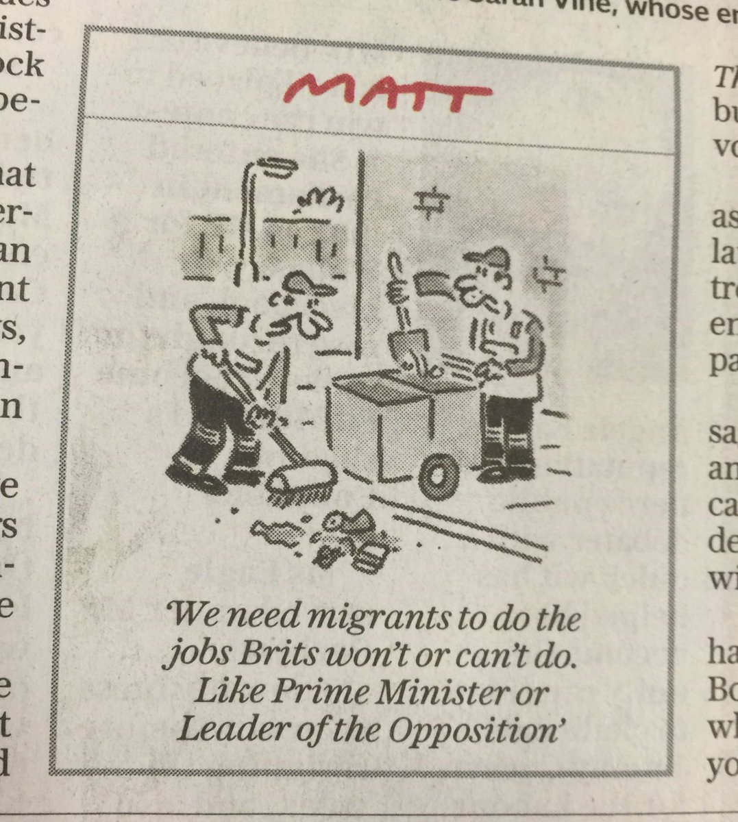 In these troubled times one thing unites us - Matt is a genius https://t.co/P8ozVNBRQV
