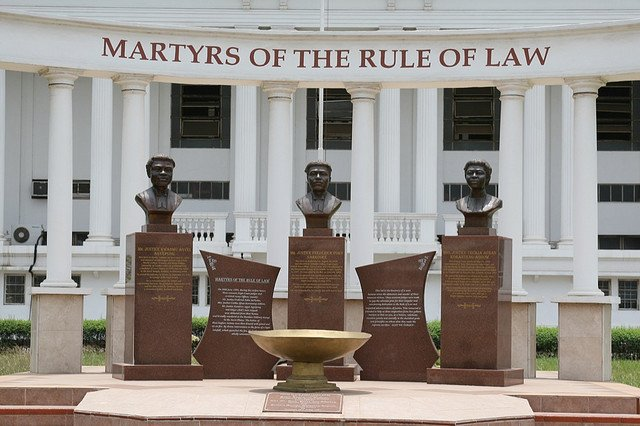 Today is martyrs day. That day the 3 judges were killed. #JoySMS https://t.co/8FS0rkFCGy