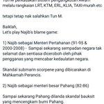 Tun M letak jawatan pada 2003. Sekarang 2016. 13 Tahun Malaysia x diperintah oleh Tun M, tapi tetap salahkan Tun M. https://t.co/DyEWhYgSvY
