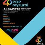 #40POPmyrural ALBACETE... Falta 1 día!!! MAÑANA @LOS40CLM @myrural https://t.co/KK76V9IcDc