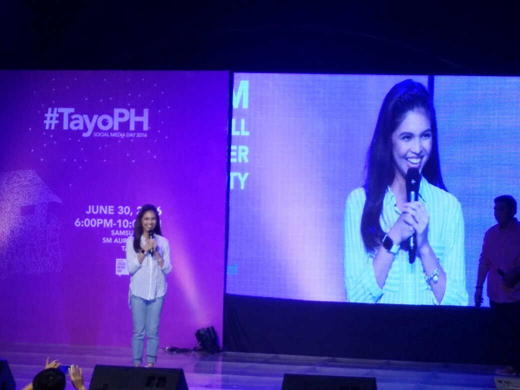 Woot! @mainedcm at #SMDay #TayoPH https://t.co/Hcvw4HUOgg