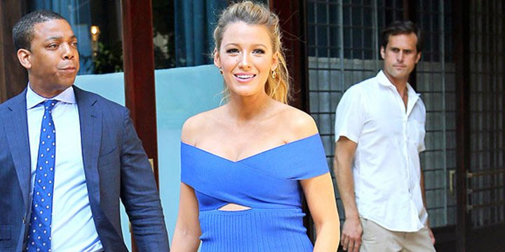 Blake Lively thinks nothing is as relaxing as slipping on a great pair of Louboutins
