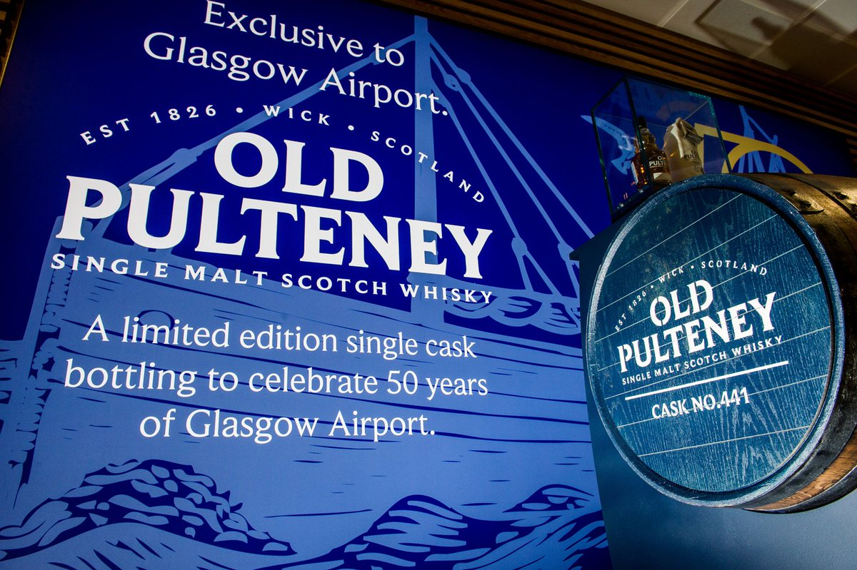 We've created an exclusive 50th anniversary whisky with @OldPulteneyMalt Read more