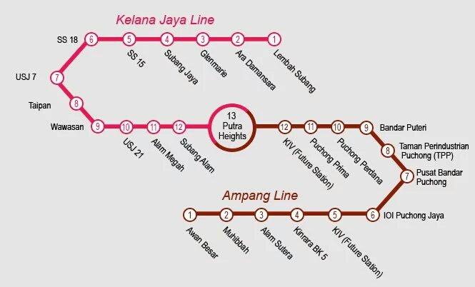 LRT Extension laluan Kelana Jaya & Ampang sudah mula beroperasi hari ini. Selamat berjalan-jalan menaiki LRT https://t.co/e5d6NN6hOh