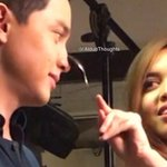 @AldubThoughts Sharing this with you. Ganyan po sila ka-casually sweet.😍 Kulit pero cute, no?😊  #ALDUBGoldenWeeksary https://t.co/3kgkzKYnua