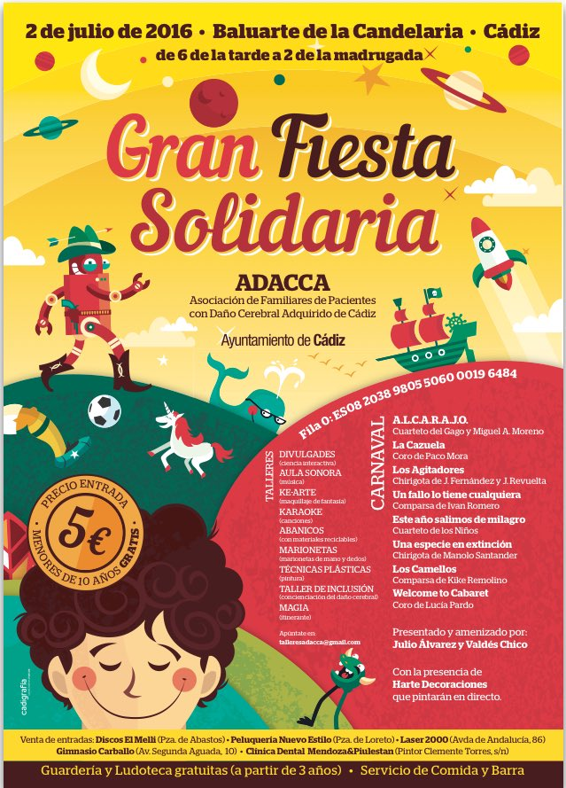 Si en estas fechas estáis en Cádiz, no lo dudéis! Esta fiesta merece la pena, de verdad :) https://t.co/is0ACo2PjZ