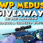Im giving away an AWP Medusa, that Ive gotten from a TradeUp in my 600k Stream! RT and Follow to participate! :) https://t.co/lOo7ed5hH6