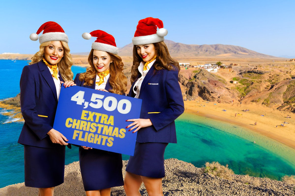 We've added 4,500 extra flights for the Christmas holidays Fly