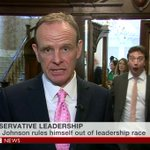 The best reaction to the announcement that Boris Johnson has ruled himself out of the leadership race https://t.co/Y5i4gGv9hq