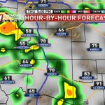 Storms are likely today and Friday... flash flooding will be possible---> https://t.co/rVOvWTI6nl #cowx #kktv https://t.co/AVkDMIqXIL