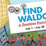 The hunt starts July 1. An old-fashioned scavenger hunt in Downtown Knoxville. Details? https://t.co/sHTLpaihmu https://t.co/dQugBx9zNg