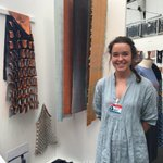 Morag Taylor explores form, movement & colour in her excellent 2D and 3D collection @NewDesigners #ND16 @dundeeuni https://t.co/zdi1K24eXD