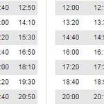 Horarios LUDC: ➡ Julio 🕒 hasta las 15h frec 10 🕒 a partir de las 15h frec 20 ➡ Agosto 🕒 frec de 40 todo el día https://t.co/lYFKbigiBU