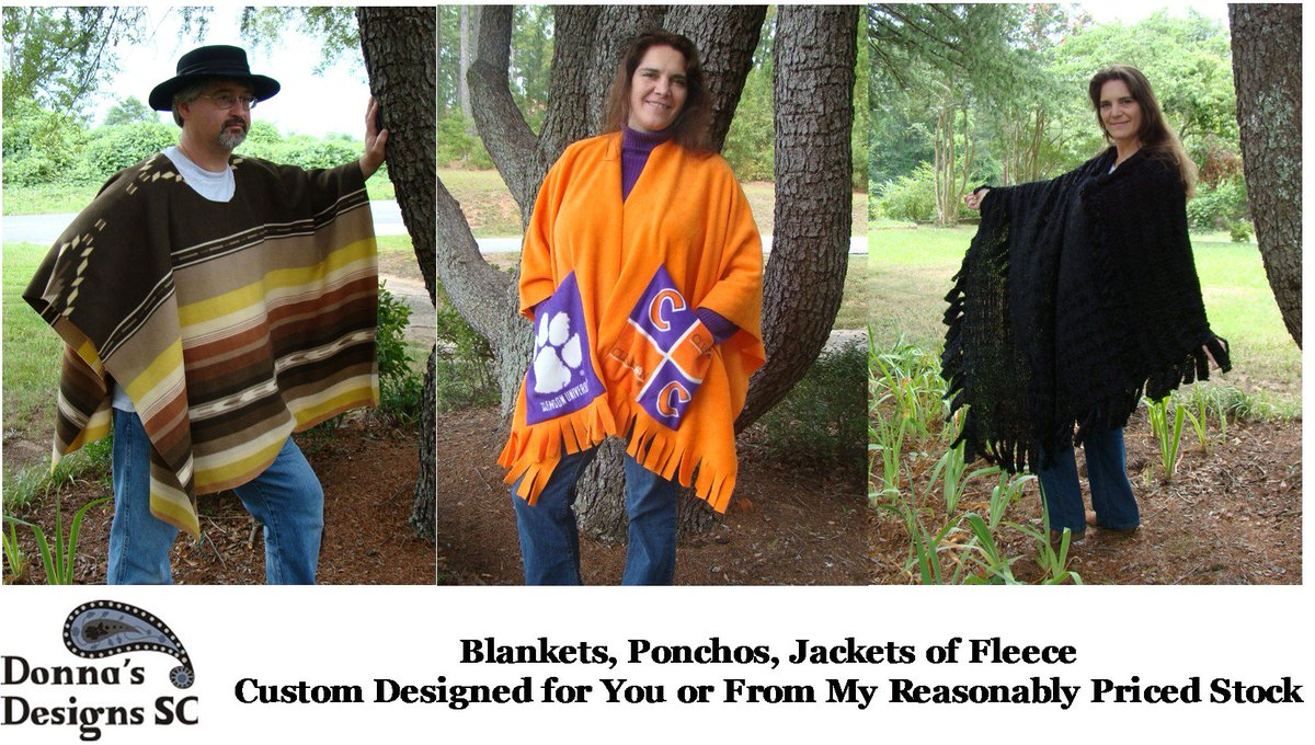 https://t.co/OzYrHn22e5  Ponchos, Capes & More! by @DonnasDesignsSC #A4team #Accessories #Cosplay https://t.co/tY5Jj4OBvE