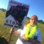 Bonnie says Misty is the voice and the face of animal abuse. #news3 https://t.co/TfripuY3in
