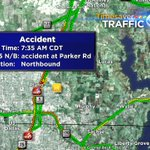 75 NB @ Parker Rd- Hwy 5 might save a little time. #traffic #DFW https://t.co/QGNlWx8ND3
