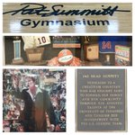 An impressive tribute at Pats old H.S. Cheatham Co. Central where the legend began! #RIPPatSummitt https://t.co/0hQ8MJoJye