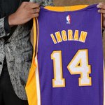 OFFICIAL: Brandon Ingram will wear #14 for the purple and gold!!   Get your jersey here: https://t.co/W2FuUW3VcZ https://t.co/rJScDGTy1Z