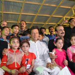 #PTI Chairman @ImranKhanPTI, @dswpti & Zammurad Khan with Children at Pakistan Sweet Homes https://t.co/UoZFRbFNse