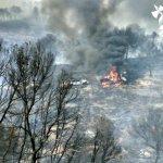 #Albacete   #IFHellín (NIVEL 1) Vehículos de #Infocam afectados en el incendio forestal de Hellín, personal a salvo. https://t.co/kSNFbPUEw1
