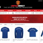 Mkhitaryan shirts are currently being sold on Manchester Uniteds club shop. (Source: https://t.co/34NdIyc8fh) https://t.co/4pB2unFqAH