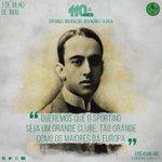 110 anos de esforço, dedicação, devoção e glória. Parabéns, Sporting Clube de Portugal! #ParabénsSporting https://t.co/0ewvflDMQz
