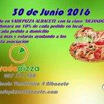 #Albacete hacednos RT de la pizza solidaria para ayudar a sufragar la quimio de Blanqui https://t.co/E60JpqbKq5