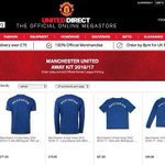 The official Manchester United store at https://t.co/cHwxJfztqe is selling Mkhitaryan shirts. #MUFC https://t.co/NkgbLaAF6p