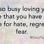 Be so busy loving your life ... #LoveYourself @RespectYourself #nofears #behappy https://t.co/RE7oJnc8PG