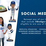 Happy #SocialMediaDay! RT any of our tweets today that include #DodgersSocial to be entered to win! https://t.co/QJWZSlwKa4