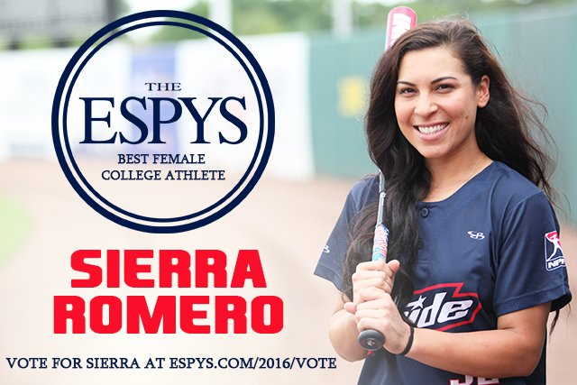 #SierraRomero2016 Vote at: https://t.co/bpXvjF4a0J https://t.co/WjG7ysQ8RW