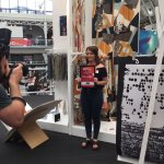 Well done to @leonnefaulds for winning the Christy carpets associate prize 2016!!!! @NewDesigners https://t.co/sC00nLNmuU