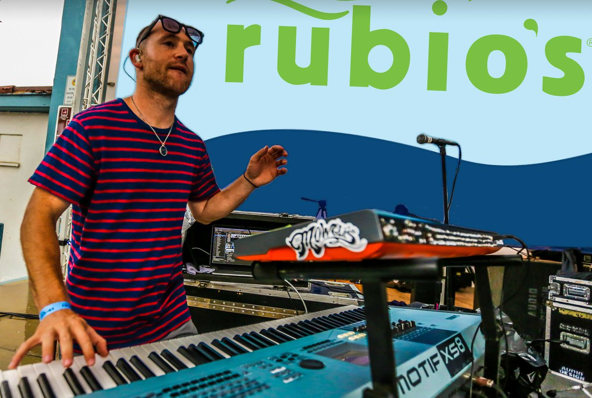 Clean up & party down with The Mowgli's at Rubio's CoastFest on 7/16! Free food & kids' zone https://t.co/NJ6h3fGdMO https://t.co/X0JrH2DtPy