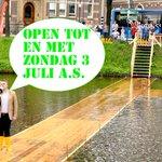 Onzichtbare brug vanwege groot succes nog 2 dagen extra open. Ervaar het zelf @Gemeente_Zwolle @19hetatelier #abz16 https://t.co/V4REZjd9Ar