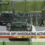 Developing: Scene at #JointBaseAndrews shows people walking w/ their hands up after reports of active shooter. https://t.co/6jTTHRQwg6