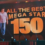 Megastar Chiranjeevi Ji being honoured at #SIIMA2016 right now... Respect for the legend! https://t.co/VqeRlW4ON4