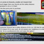 #CanadaDay #fireworks the labels tell the story. Read the fine print prior to purchase! Safer to enjoy the pro show. https://t.co/5rWswlQpmB