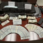 Authorities in Rockdale County arrested 4 men and seized 22 kilos of cocaine, 6.43 oz of heroin and $50,953 in cash. https://t.co/FlWXTPzNQX