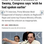 Cong & media hand in gloves Notice d headline???? As if PM said what he said to please Cong #SwamyVsPresstitutes https://t.co/ECUy5L9V2e