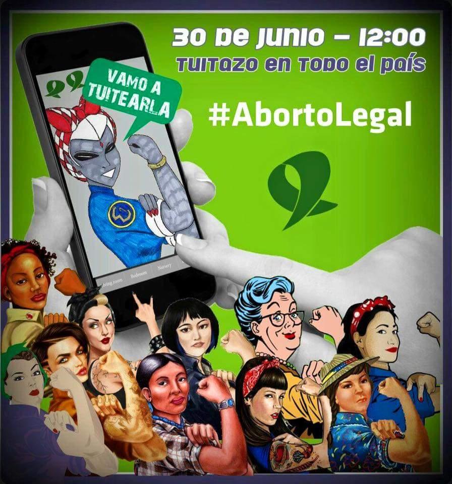 """Hoy más que nunca: """"Educación sexual para decidir, anticonceptivos para no abortar y #abortolegal para no morir"""". https://t.co/1pJlP0pHeX"""