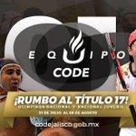 Les deseamos todo el éxito a la Selección Jalisco en la Olimpiada Nacional 2016. #JaliscoEsDeOro https://t.co/v1lp9xDbOi