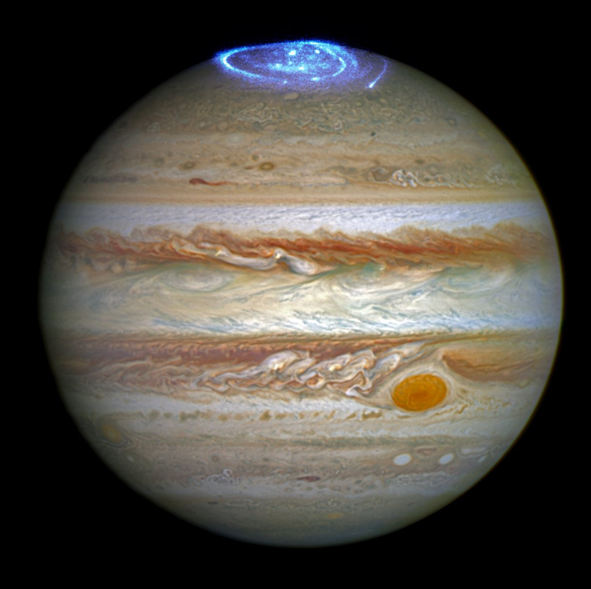 We can all agree auroras on Earth are breathtaking...but how about this NEW view of auroras at Jupiter!? Wow! https://t.co/GZPpc1LP54