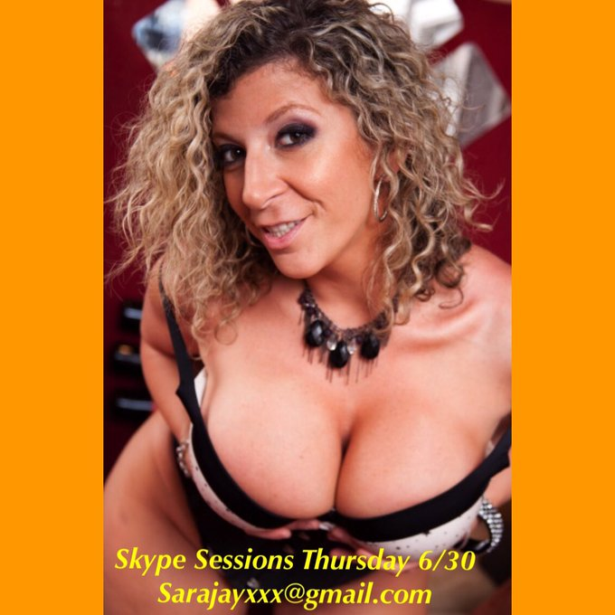 Skype sessions today! Click ?https://t.co/LXwXt4r6s0 to book! @_DreamLover_  sarajayxxx@gmail.com https://t